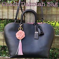 COACH Dakotah 1941 satchel glovetanned Black leather 59132 shoulder Bag