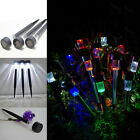 Solar Power Path Lights LED Garden Stake Light Lawn Spot Lamp for Outdoor Yard