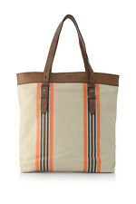 Fossil Estate CB Shoulder Bag Canvas/Genuine Leather Tote Pick A Color