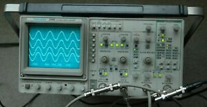 Tektronix 2246 1Y Four Channel 100 MHz Oscilloscope, two probes, power cord