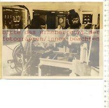 ORIGINAL PRESSEFOTO: 1957 SPACEMEN TAKE OVER HERMES - HEAVY ELEMENT RADIOACTIVE