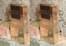 LOT~ Heidi Klum ~ SHINE ~  .375 oz EACH ~ EDT Eau de Toilette Perfume