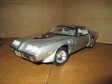 1979 Pontiac Trans am road signature 1/18 silver limited ed loose display piece