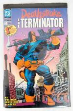 DC Comics Deathstroke THE TERMINATOR Aug 91 Graphic Novel