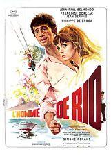 Affiche Roulée 40x60cm L'HOMME DE RIO 1964 Jean-Paul Belmondo R2013 NEUVE