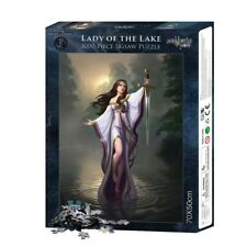 Nemesis Now Lady of The Lake 1000 Piece Gothic Fantasy Jigsaw Puzzle
