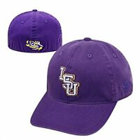 LSU Tigers Hat Cap Relaxed One Fit Flex M/L Fits Size 7 1/8 to 7 7/8 Brand New