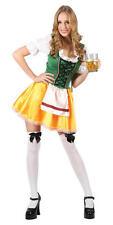 German Beer Girl XL UK 22-24 Oktoberfest Waitress Fancy Dress Plus Size Costume