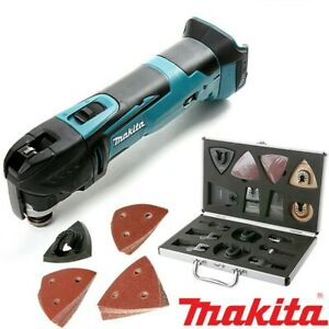 Makita DTM51Z 18v LXT Cordless Multi Tool Body With Wellcut 65pc Accessories Set