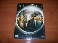 HÉROES TEMPORADA 2 - PACK 4 DVD NUEVO PRECINTADO