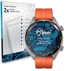 Bruni 2x Protective Film for Huawei Watch GT Active Screen Protector