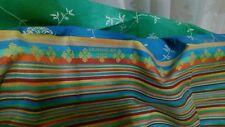 Granfoulard Bassetti 180x270 BIBI verde blu copridivano telo sofa cover tenda