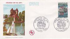 FRANCE 1966 FDC CHATEAU DE VAL  YT 1506