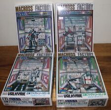 1:170 Scale Macross Factory Valkyrie Set! MA01 MD01 MS03 MJ04 RARE!