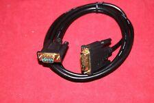 DVI to VGA Cable, 6 feet.