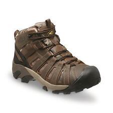 SIZE 14 KEEN Utility Men's Flint Mid Camo Soft Toe Work Boots Mossy Oak