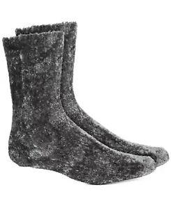 Womens Chenille Super Soft Cozy Socks Grey 1 Pair CHARTER CLUB $10 - NWT
