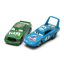 Mattel Disney Pixar Cars 3 King & Chick Hicks 1:55 Diecast Toy Vehicle Loose New