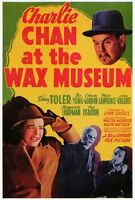CHARLIE CHAN AT THE WAX MUSEUM Movie POSTER 27x40 Sidney Toler Victor Sen Yung
