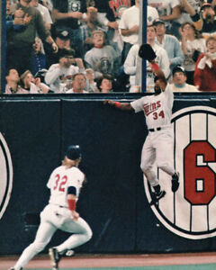 1991 Minnesota Twins KIRBY PUCKETT Glossy 8x10 Photo World Series Print Poster