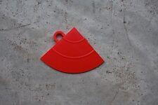 Speedway Garage Tile Mfg. Diamond Tile Edge Corner Piece Red