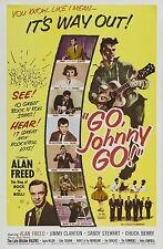 "Eddie Cochran Go Johnny Go 16"" x 12"" Photo Repro Film Poster 2"