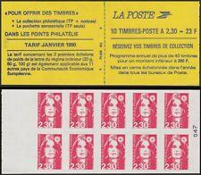 1990 FRANCE CARNET 2630-C1 MARIANNE de BRIAT Réserver vos timbres Neuf Non Plié