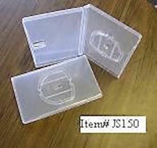 5 pcs  UMD GAME CASE W/ SLEEVE , SUPER CLEAR JS150