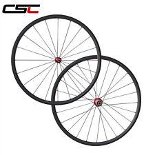 CSC Only 1180g Ultra Light carbon wheels 24mm tubular carbon bike road wheelset