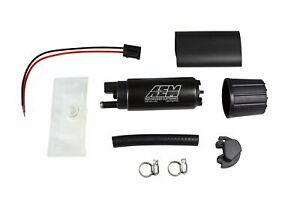 Genuine AEM 50-1000 340LPH High Performance Intank EFI Fuel Pump w/ Install Kit