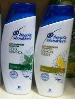 Head & Shoulders Anti-Dandruff Shampoo | Cool Menthol / Lemon Fresh | 180 ML