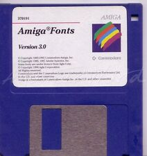 Amiga Workbench 3.0 - Fonts Disk - Good Condition