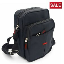 Unisex Messenger Canvas Cross Body Shoulder Utility Travel Work Multi Pocket Bag