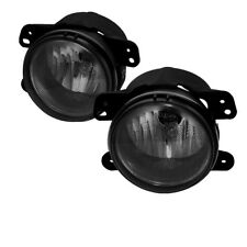 Dodge 05-07 Magnum 05-10 Chrysler 300 PT Cruiser Smoke Fog Lights w/Bulbs+Switch