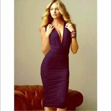 VICTORIA'S SECRET Moda International MULTI WAY RUCHED DRESS, Purple sz M (7-9)