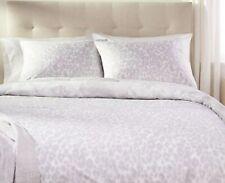 G.I.L.I Jill Martin Reversible FULL Grey Snow Leopard Animal Print Comforter Set