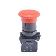 1pc New Schneider Emergency Stop Button Switch 22mm Xb5as542c