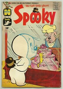 SPOOKY #12 (Wendy, Ghostly Trio, Drive-In Theater Story, Bakery) Harvey, 1961