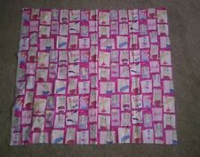 Vintage Barbie Cutt Fabric Preowned Great Condition 36 x40