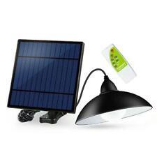Vintage 12 LED Solar Street Light Chandelier Garden Lawn Lamp Floodlight Remote