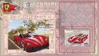 Congo - Ferrari Cars -  Stamp S/S  - 3A-234