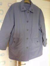 Ladies size 16 Blue long Anorak