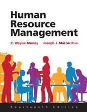 Human Resource Management by Joseph J. Martocchio and R. Wayne Mondy (2015,...