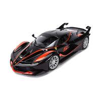 Bburago 16010 Ferrari FXX-K #5 schwarz Maßstab 1:18 Modellauto NEU!°