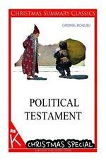 NEW Political Testament [Christmas Summary Classics] by Cardinal Richelieu