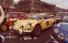 "Cartograph decal 1/43  Alpine Renault ""DININ"" Garage ALRIC Rally MonteCarlo 77"