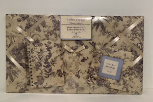 New The Raymond Waites Memory Photo Board Gift Set French Country Notebook Frame