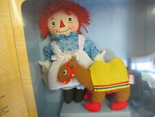 RAGGEDY ANN DOLL &  CAMEL PLUSH  NEW IN BOX STORYBOOK FRIENDS APPLAUSE