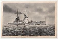 Marine Feldpost Ak S.M.S. Friedrich der Große 1916 ! (A2465