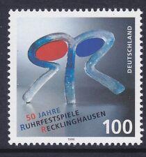 Germany 1930 Mnh 1996 Ruhr Festival - Recklinghausen 50th Anniversary